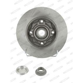 Bremsscheibe Bremsscheibendicke: 9mm, Lochanzahl: 4, Ø: 249mm mit OEM-Nummer 424966