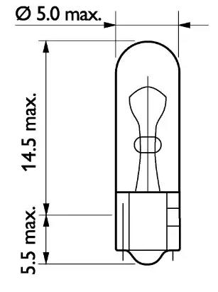 Bulb, instrument lighting PHILIPS GOC48318828 expert knowledge