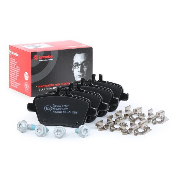 Bremsklötze BREMBO P50091 8020584103234