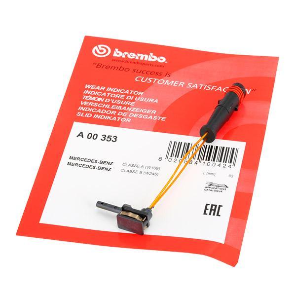 Brake Wear Sensor BREMBO A00353 expert knowledge
