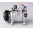 DENSO Compresor de aire acondicionado BMW PAG 46, Frigor.: R 134 a