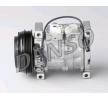 DENSO Compresor de aire acondicionado SUZUKI PAG 46, Frigor.: R 134 a