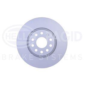 Bremsscheibe Bremsscheibendicke: 25,0mm, Ø: 312mm mit OEM-Nummer 1K0615301D