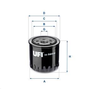 Ölfilter Ø: 86mm, Außendurchmesser 2: 72mm, Innendurchmesser 2: 62mm, Höhe: 90mm mit OEM-Nummer 8200 893 554