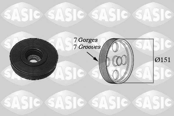 SASIC  2154017 Belt Pulley, crankshaft