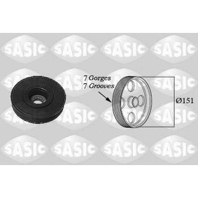 SASIC  2154017 Belt Pulley, crankshaft