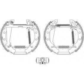 Bremsbackensatz Breite: 40mm mit OEM-Nummer 6Y0609526A