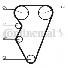 Water pump and timing belt kit Article № CT974WP1 £ 140,00