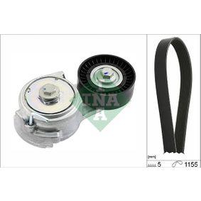 V-Ribbed Belt Set 529 0011 10 PUNTO (188) 1.2 16V 80 MY 2002