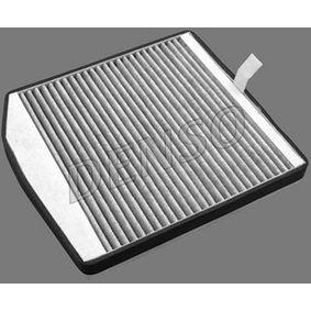 Filter, Innenraumluft Länge: 278mm, Breite: 248mm, Höhe: 38mm mit OEM-Nummer 9171757