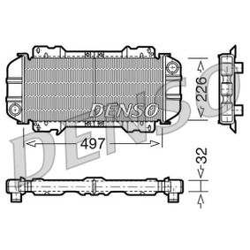 DENSO Radiador de motor Cobre