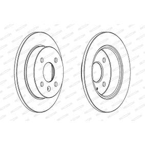 Bremsscheibe Bremsscheibendicke: 20mm, Lochanzahl: 4, Ø: 239mm mit OEM-Nummer 321.615.301C