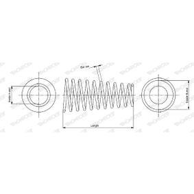 Fahrwerksfeder SP3770 TWINGO 2 (CN0) 1.5 dCi Bj 2017