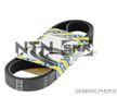 SNR Keilrippenriemen CA4PK890 für AUDI 80 Avant (8C, B4) 2.0 E 16V ab Baujahr 02.1993, 140 PS