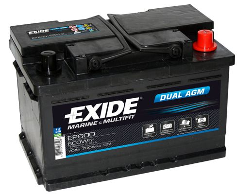 EXIDE DUAL AGM EP600 Starterbatterie