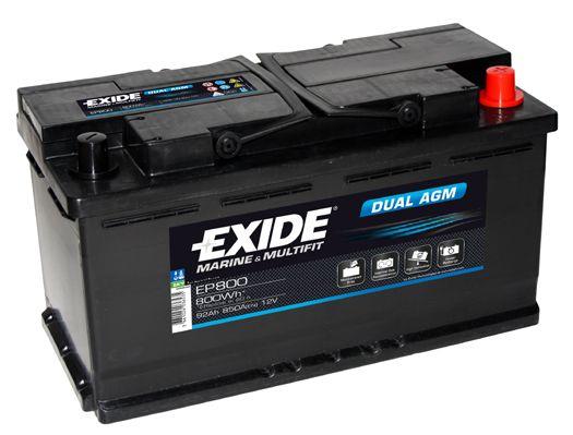 EXIDE DUAL AGM EP800 Starterbatterie