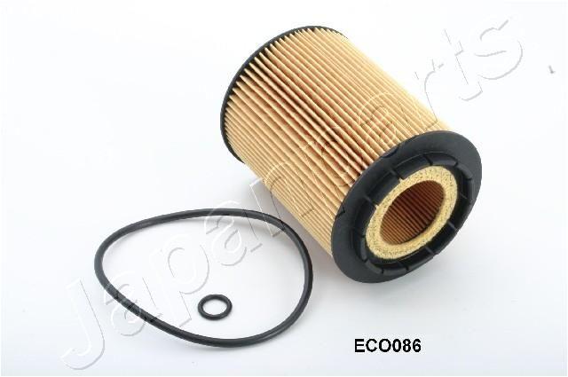 JAPANPARTS  FO-ECO086 Ölfilter Ø: 83mm, Innendurchmesser: 37mm, Innendurchmesser 2: 21mm, Länge: 112mm, Länge: 112mm