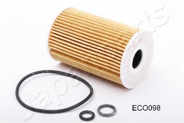 JAPANPARTS  FO-ECO098 Oil Filter Ø: 65mm, Inner Diameter: 21mm, Length: 101mm, Length: 101mm