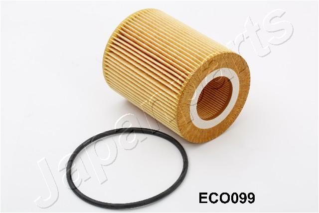JAPANPARTS  FO-ECO099 Ölfilter Ø: 78mm, Innendurchmesser: 38mm, Länge: 95mm, Länge: 95mm