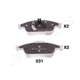 Bremsbelagsatz, Scheibenbremse Höhe 1: 59,7mm, Höhe: 64,7mm, Dicke/Stärke: 18mm mit OEM-Nummer 41 06 071 15R