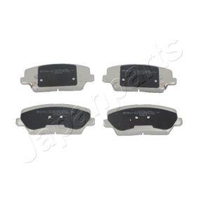Bremsbelagsatz, Scheibenbremse Höhe: 60mm, Dicke/Stärke: 17mm mit OEM-Nummer 58101 2TA20