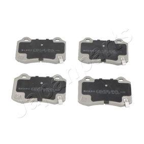 JAPANPARTS  PP-907AF Bremsbelagsatz, Scheibenbremse Höhe: 70mm, Dicke/Stärke: 15mm