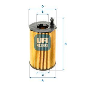 Ölfilter Ø: 71,0mm, Innendurchmesser 2: 28,5mm, Höhe: 128,0mm mit OEM-Nummer 059115561D
