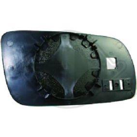2001 Skoda Fabia 6y5 1.4 16V Mirror Glass, outside mirror 7805327
