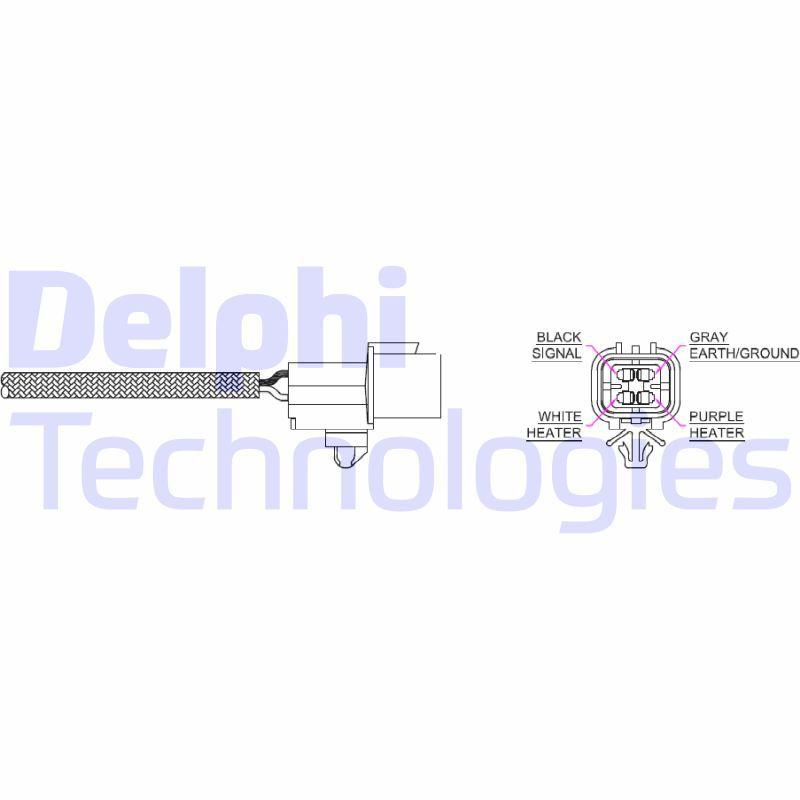 DELPHI  ES20214-11B1 Lambdasonde