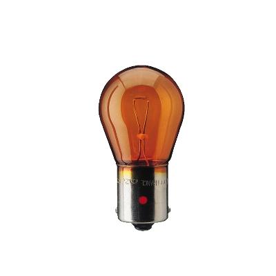 Bulb, indicator 12496LLECOCP PHILIPS PY21W original quality