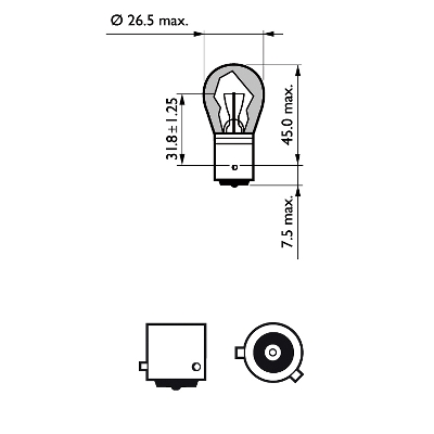 Bulb, indicator PHILIPS 38218128 rating