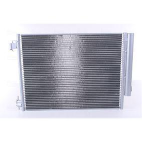 Kondensator, Klimaanlage Netzmaße: 523 x 395 x 12 mm mit OEM-Nummer 921006454R