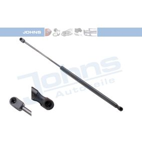 JOHNS  55 16 95-95 Heckklappendämpfer / Gasfeder Länge: 571mm, Hub: 208mm