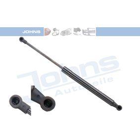 JOHNS  60 04 95-91 Heckklappendämpfer / Gasfeder Länge: 383mm, Hub: 137mm
