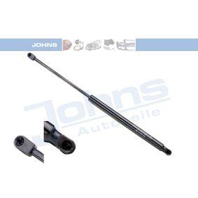 JOHNS  60 12 95-92 Heckklappendämpfer / Gasfeder Länge: 533mm, Hub: 220mm