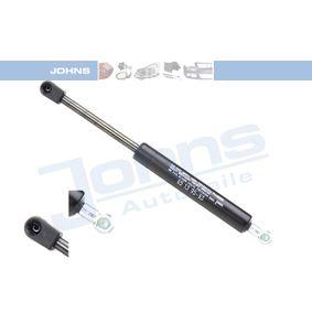 JOHNS  65 13 95-93 Heckklappendämpfer / Gasfeder Länge: 280mm, Hub: 90mm