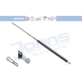 JOHNS  74 72 95-91 Heckklappendämpfer / Gasfeder Länge: 550mm, Hub: 235mm