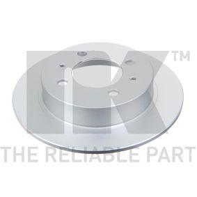 Bremsscheibe Bremsscheibendicke: 7,00mm, Felge: 4,00-loch, Ø: 234mm mit OEM-Nummer 4320658Y02