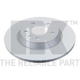Bremsscheibe Bremsscheibendicke: 13,50mm, Felge: 5,00-loch, Ø: 294mm mit OEM-Nummer 7D0 615 601A