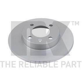 Bremsscheibe Bremsscheibendicke: 10,00mm, Felge: 4,00-loch, Ø: 239mm mit OEM-Nummer 811615301B