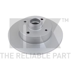 Bremsscheibe Bremsscheibendicke: 10mm, Felge: 4-loch, Ø: 226mm mit OEM-Nummer 6N0 615 601