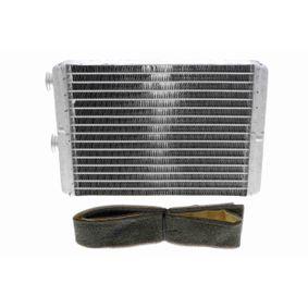 Heat Exchanger, interior heating V24-61-0001 PUNTO (188) 1.2 16V 80 MY 2002