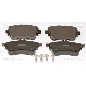 Bremsbelagsatz, Scheibenbremse Breite: 129mm, Höhe: 71,5mm, Dicke/Stärke: 19mm mit OEM-Nummer A 00842 00420