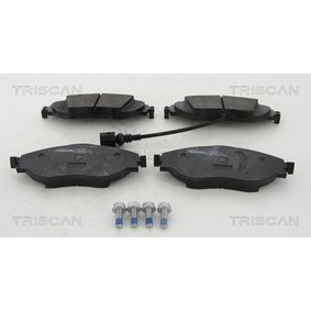 Brake Pad Set, disc brake Width: 175,5mm, Height: 69,7mm, Thickness: 20mm with OEM Number 3C0 698 151 G