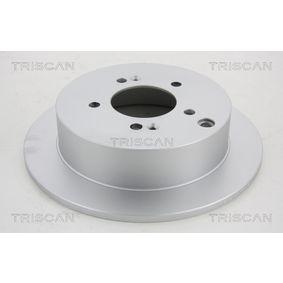 Bremsscheibe Bremsscheibendicke: 10mm, Lochanzahl: 5, Ø: 284mm mit OEM-Nummer 58411-3A300