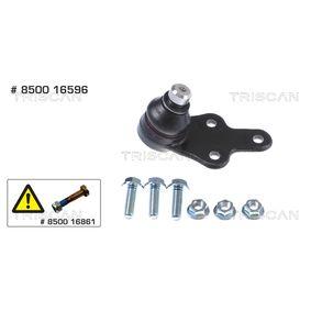 TRISCAN  8500 16596 Trag- / Führungsgelenk Konusmaß: 21mm