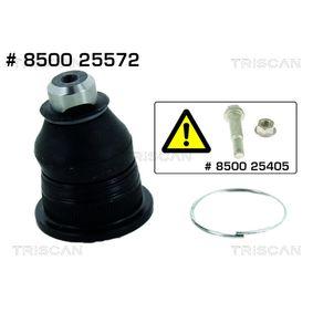 TRISCAN  8500 25572 Trag- / Führungsgelenk Konusmaß: 18mm