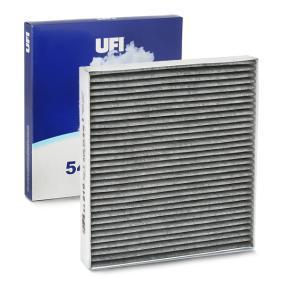 Filter, Innenraumluft Länge: 255,0mm, Breite: 234,0mm, Höhe: 30,0mm mit OEM-Nummer 5Q0 819 653