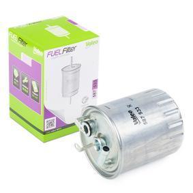 Kraftstofffilter Höhe: 107mm mit OEM-Nummer 611 092 02 01