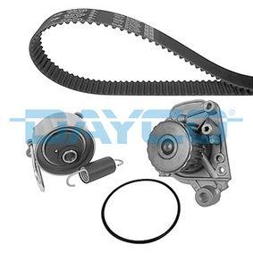 Honda Civic eu7 1.6i Wasserpumpe + Zahnriemensatz DAYCO KTBWP7800 (1.6 i Benzin 2003 D16W7)